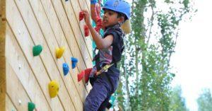 Climbing Wall Activity